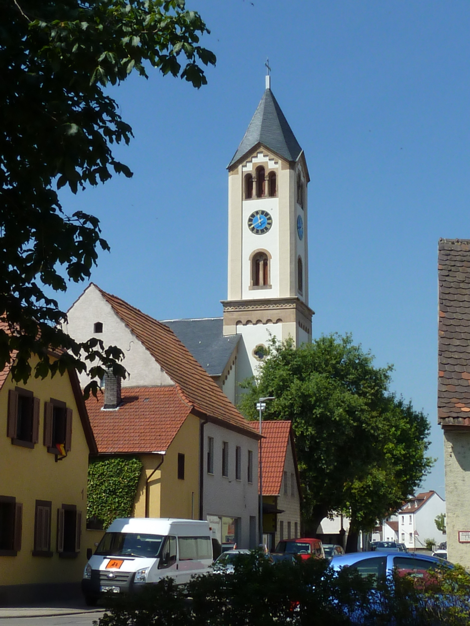 Heilig-Kreuz-Kirche in Mörsch