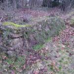 Foto: Monika Kröber Trockenmauer am Friedhofsweiher