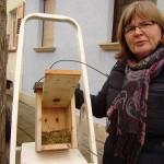 Foto: Monika Kröber - mit Monika H. im Heßheimer Viertel